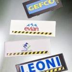 EDB Packaging - Marquage à chaud pour Evian, Gefco etc...